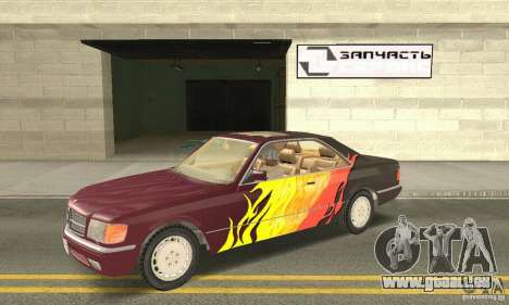 Mercedes-Benz W126 560SEC pour GTA San Andreas
