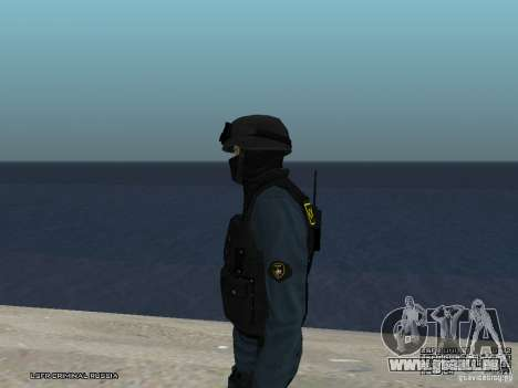 RIOT POLICE Officer für GTA San Andreas siebten Screenshot