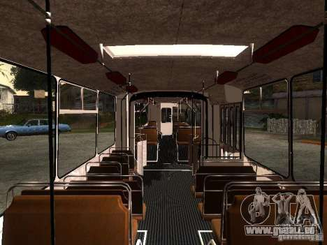 ZiU-683 für GTA San Andreas Seitenansicht