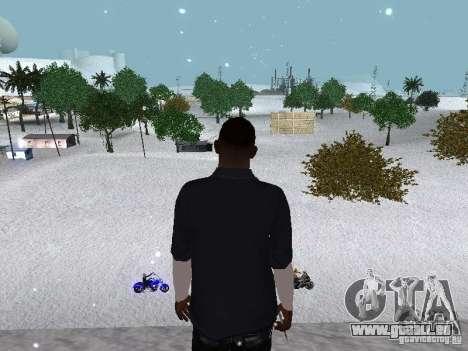 Snow MOD 2012-2013 pour GTA San Andreas onzième écran