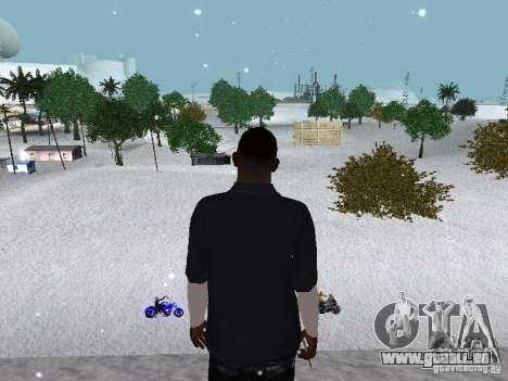Snow MOD 2012-2013 für GTA San Andreas elften Screenshot