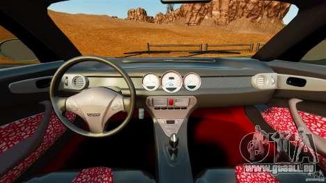 Daewoo Joyster Concept 1997 pour GTA 4 Vue arrière
