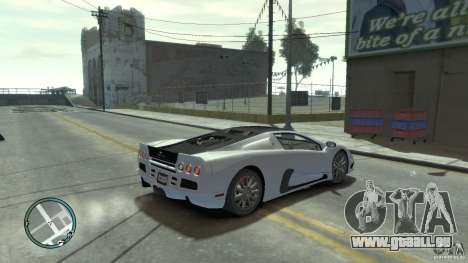 Shelby Super Cars Ultimate Aero pour GTA 4 est une gauche