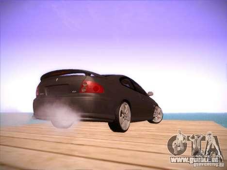 Pontiac FE GTO pour GTA San Andreas vue arrière