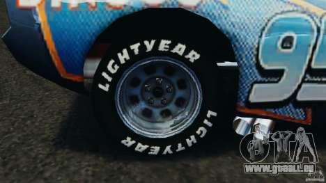 Lightning McQueen Dinoco pour GTA 4 Vue arrière