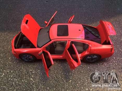 Dodge Charger SRT8 2006 pour GTA 4 Vue arrière de la gauche