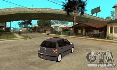 Volkswagen Polo 2008 für GTA San Andreas rechten Ansicht
