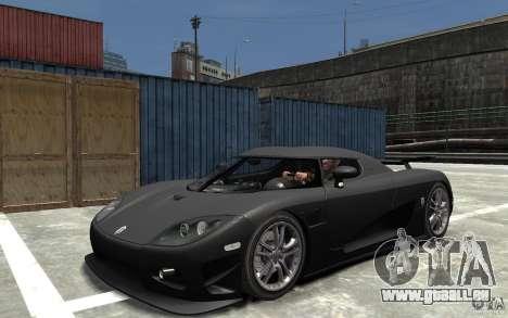 Koenigsegg CCXR Edition V1.0 pour GTA 4