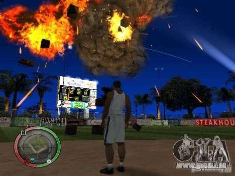 RAIN OF BOXES pour GTA San Andreas sixième écran