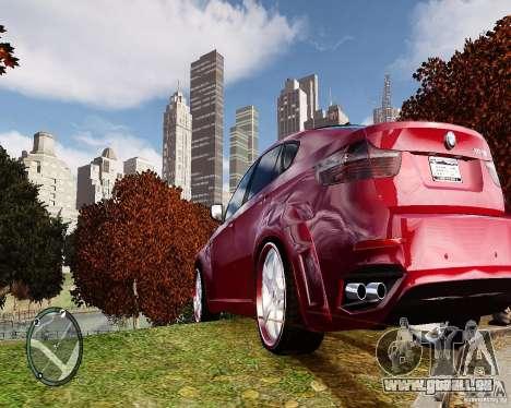 BMW X6M Lumma pour GTA 4 est un droit
