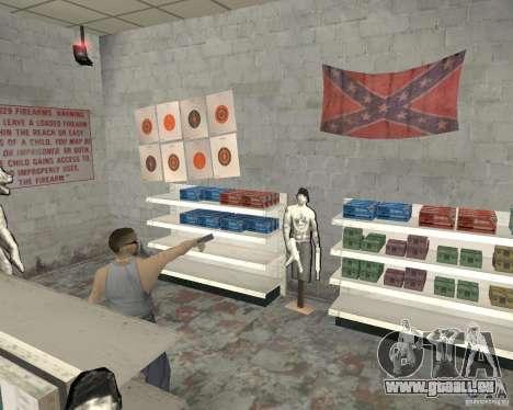 Un animé magasin Ammu-Nation v3 (Final) pour GTA San Andreas cinquième écran
