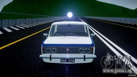 Fiat 125p Polski Milicja pour GTA 4 est une vue de dessous