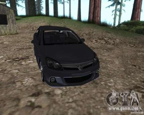 Vauxhall Astra VXR pour GTA San Andreas vue de droite