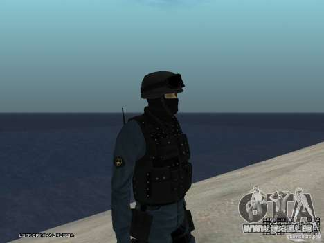 RIOT POLICE Officer für GTA San Andreas zweiten Screenshot