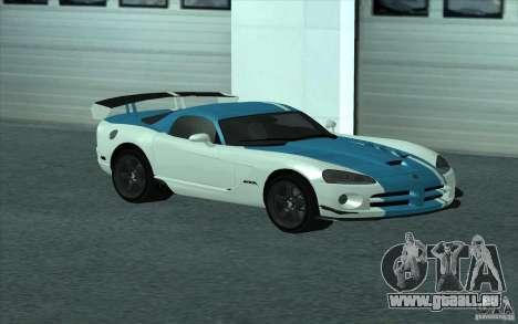 Dodge Viper SRT10 ACR pour GTA San Andreas
