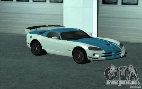 Dodge Viper SRT10 ACR für GTA San Andreas