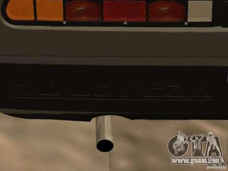 DeLorean DMC-12 für GTA San Andreas Innenansicht