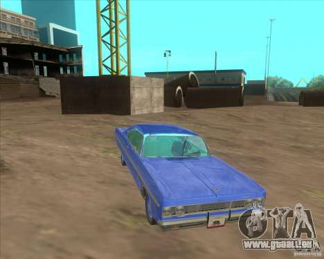 Plymouth Fury III coupe 1969 für GTA San Andreas