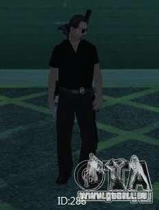 Nouveaux skins SAPD pour GTA San Andreas cinquième écran