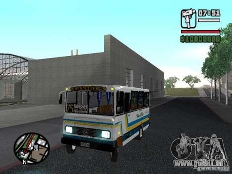 Cuatro Ases M.Benz LO608D für GTA San Andreas