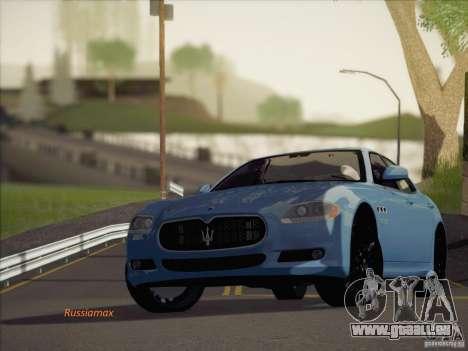 Maserati Quattroporte v3.0 pour GTA San Andreas