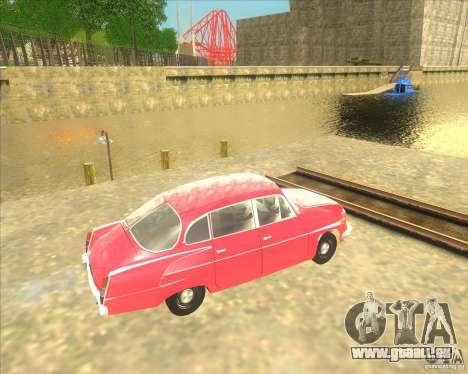 Tatra 603 pour GTA San Andreas laissé vue