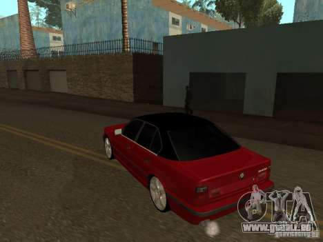 BMW 540i E34 für GTA San Andreas rechten Ansicht