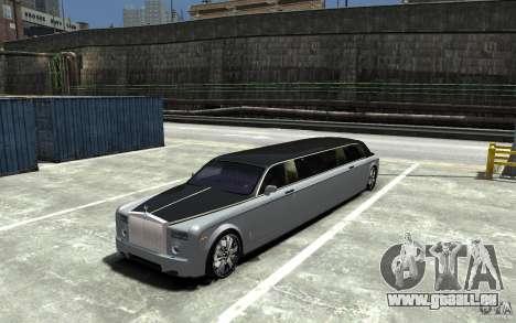 Rolls-Royce Phantom Sapphire Limousine v.1.2 pour GTA 4