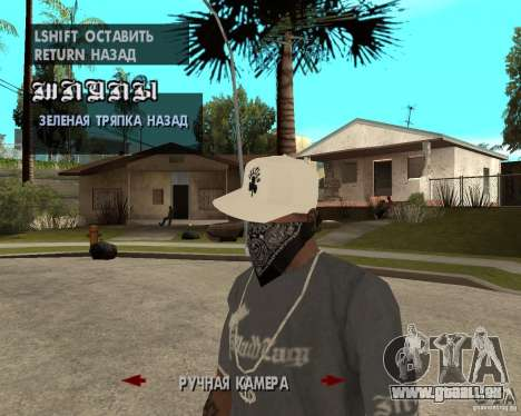 Hip-Hop caps für GTA San Andreas dritten Screenshot