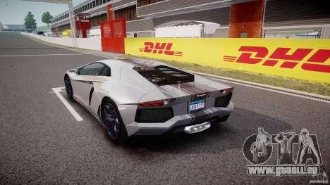 Lamborghini Aventador LP700-4 2011 [EPM] pour GTA 4 Vue arrière de la gauche