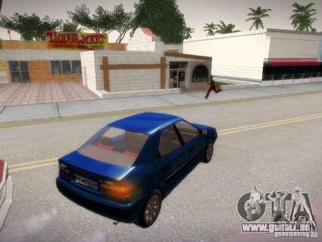 Citroën Xantia pour GTA San Andreas laissé vue