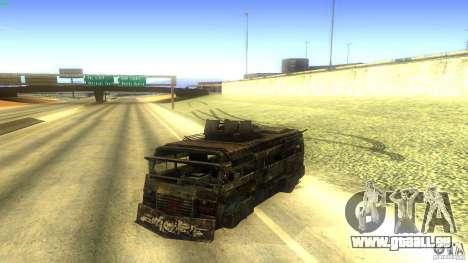 Frontline - MilBus für GTA San Andreas