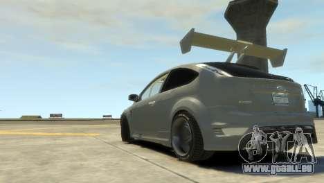 Ford Focus RS für GTA 4 linke Ansicht