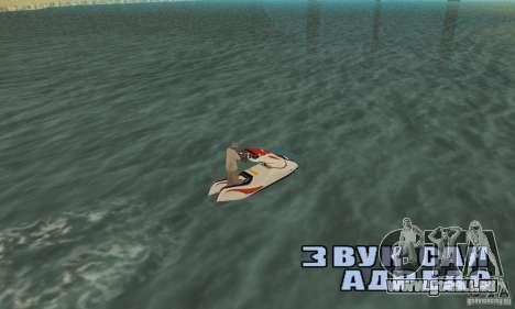 Hydrocycle für GTA San Andreas linke Ansicht