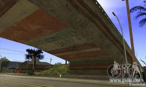 Grove Street Retextured pour GTA San Andreas quatrième écran