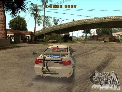 BMW M3 E92 Grip King pour GTA San Andreas vue de droite