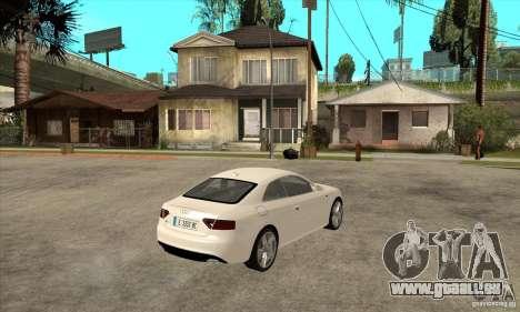 Audi S5 2008 pour GTA San Andreas vue de droite