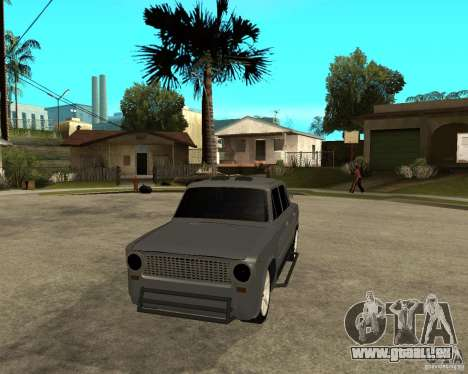 VAZ 2101 schwer tuning für GTA San Andreas Rückansicht
