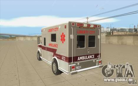 GTA3 HD Vehicles Tri-Pack III v.1.1 für GTA San Andreas Unteransicht