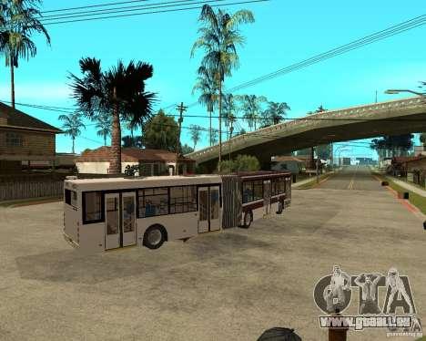 LIAZ 6213.20 pour GTA San Andreas sur la vue arrière gauche