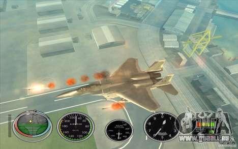 Lancement rapide de la fusée à Hydra et Hunter pour GTA San Andreas