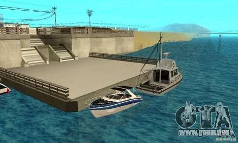 GTAIV Tropic pour GTA San Andreas vue de dessus