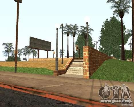 Textur von dem Basketballplatz für GTA San Andreas