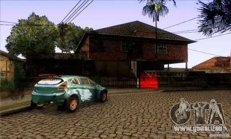 Grove Street Retextured pour GTA San Andreas cinquième écran