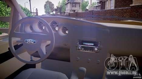 Ford F-350 Unmarked [ELS] für GTA 4 Rückansicht