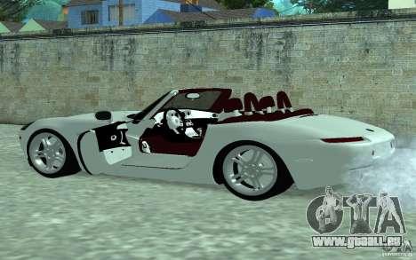 BMW Z8 für GTA San Andreas linke Ansicht