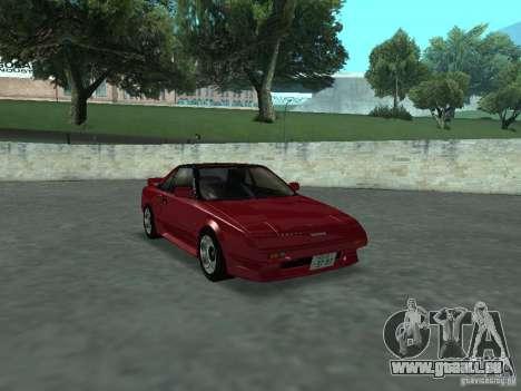 Toyota MR2 pour GTA San Andreas vue de droite