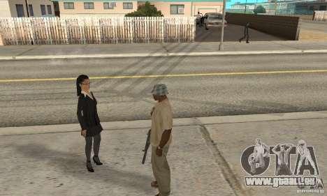 Hypnose dans San Andreas pour GTA San Andreas deuxième écran