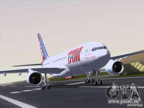 Airbus A330-223 TAM Airlines für GTA San Andreas linke Ansicht