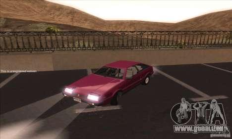 Isuzu Piazza pour GTA San Andreas laissé vue